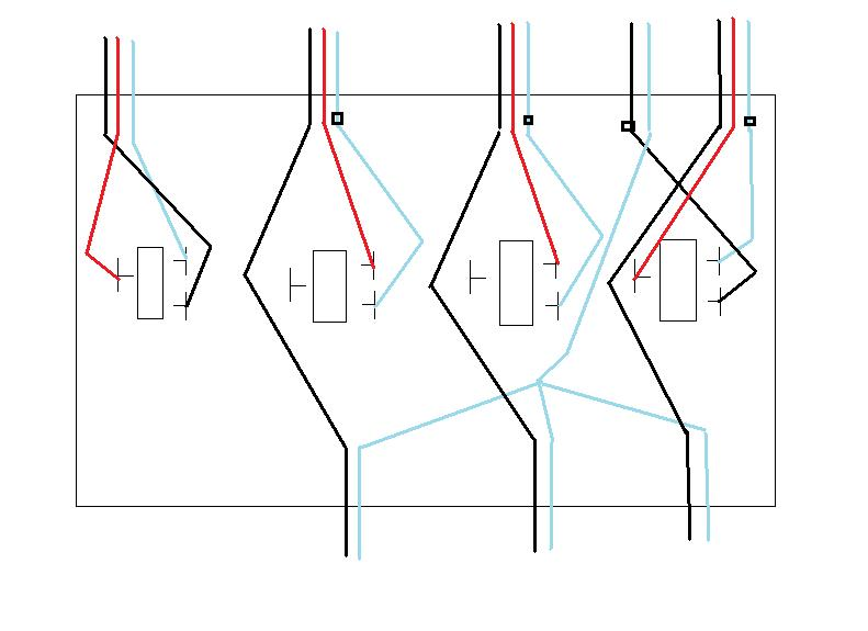 how to wire a 4 gang light switch box hostingrq com 3 gang switch wiring diagram nilza net 791 x 575